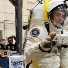 Gravity Offset EVA Space Suit Testing